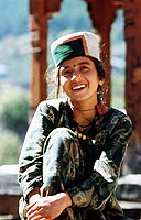 Young woman from Kinnaur