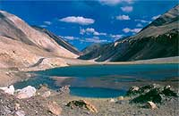 Lake in Ladakh, Indian Himalayas