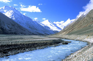 Chandra river, Indian Himalayas